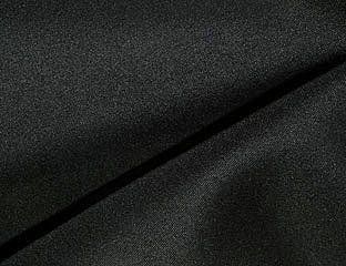 Solid Poly Black Linen