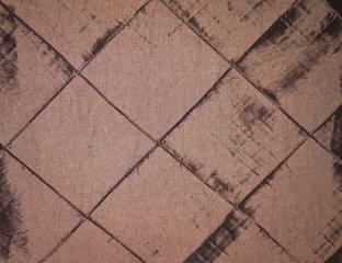 Pintuck Taffeta Brown Linens