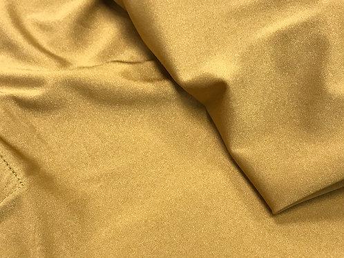 Spandex Shiny Karat Gold Linens