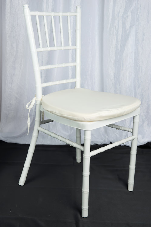 White Chair Pad