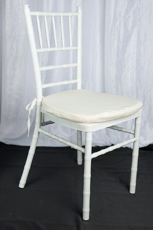 White Chair Pad