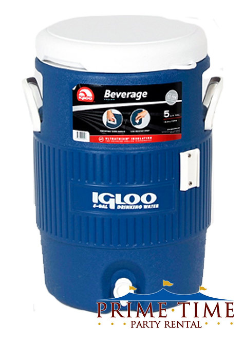 Insulated Cold Beverage Dispenser 5 gallons