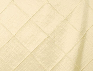 Pintuck Taffeta Ivory Linens