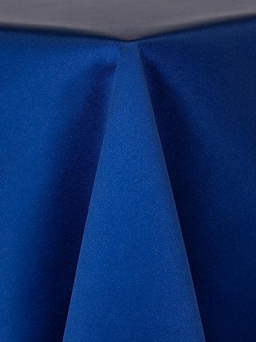 Matte Satin Cobalt Blue Linens