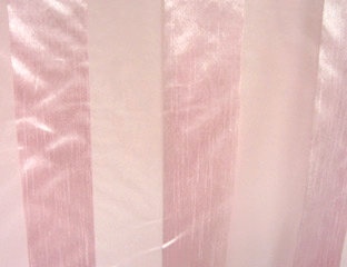 Eternity Stripe Sheer Pink Linen