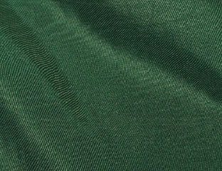 Bengaline Moire Hunter Green Linen