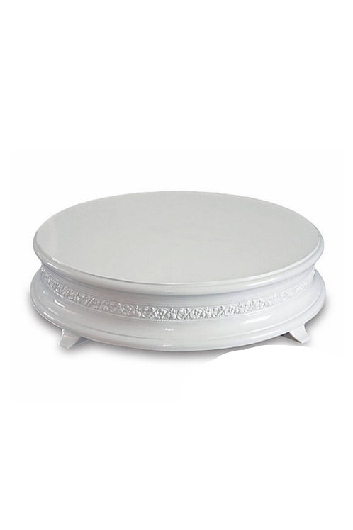 Classic White Cake Stand