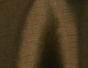 Supernova Shantung Chocolate Brown Linen