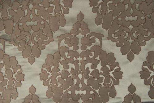 Tiffany Mist Jacquard Damask Linen