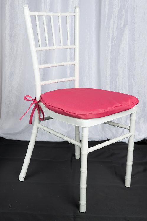 Fuchsia Chair Pad