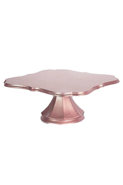 Rose Gold Pedestal Cake Stand