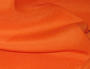 Solid Poly Pumpkin Linen