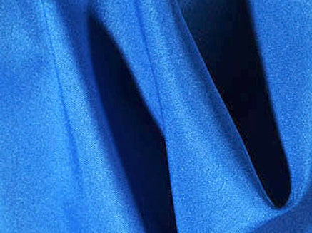 Solid Poly Royal Blue Linen