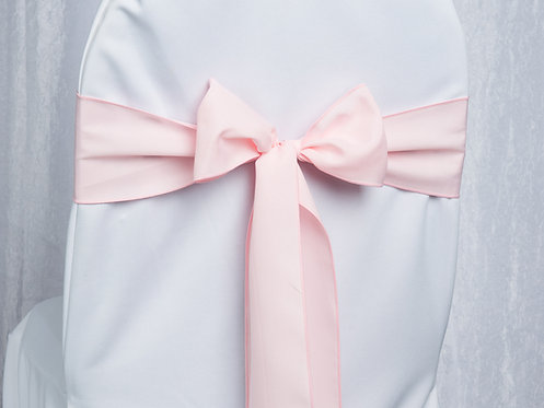 Poly Light Pink Chair Sash