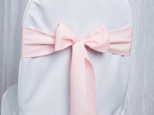 Poly Light Pink Chair Sash