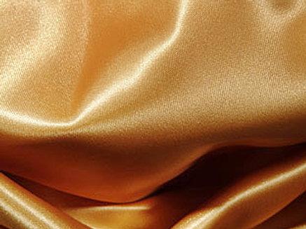 Satin Gold Linens