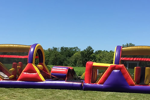Inflatable Obstacle Course 70 foot