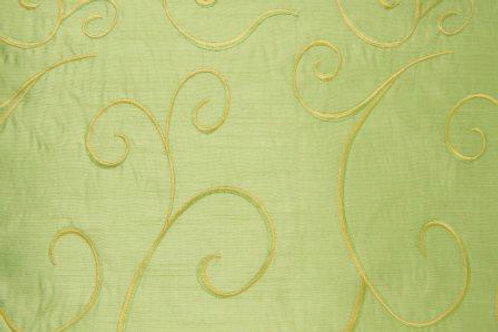 Nova Swirl Green Apple Linen
