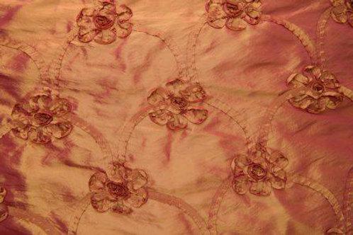 Monique Crimson Taffeta Linens