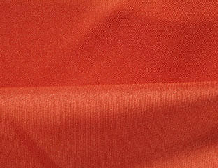 Solid Poly Burnt Orange Linen