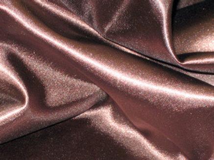 Satin Brown Linens