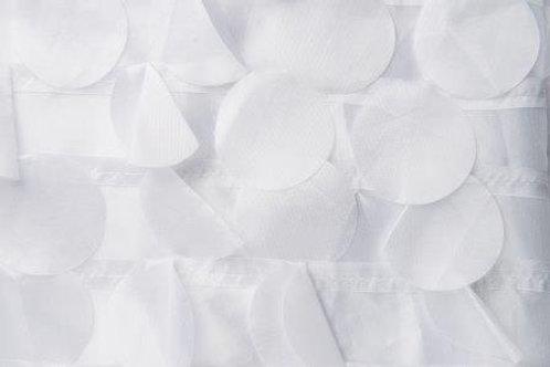 Taffeta Bubbles White