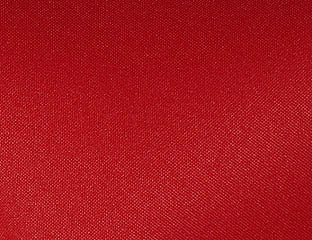Solid Poly Red Linen