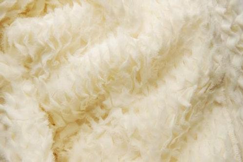 Chiffon Ivory Ruffles