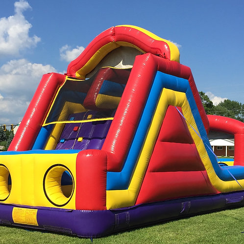 Double Lane Inflatable Slide 15'