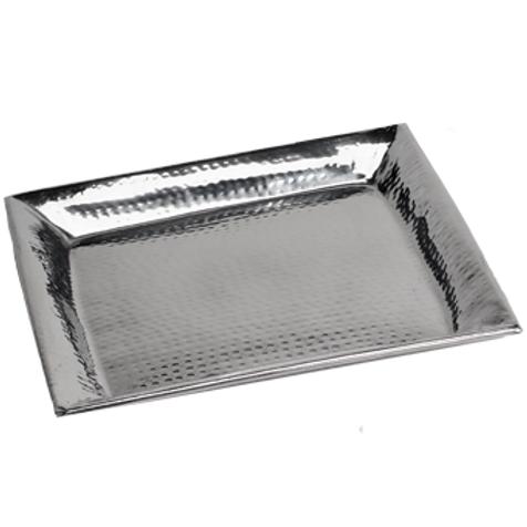 Square Hammered Serving Platter