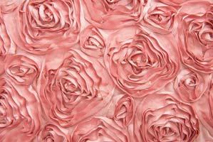 Ribbon Rose Dusty Rose Table Runner