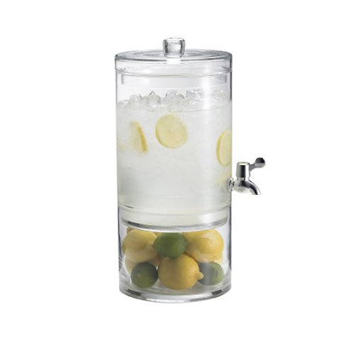 Glass 2 part Beverage Dispenser