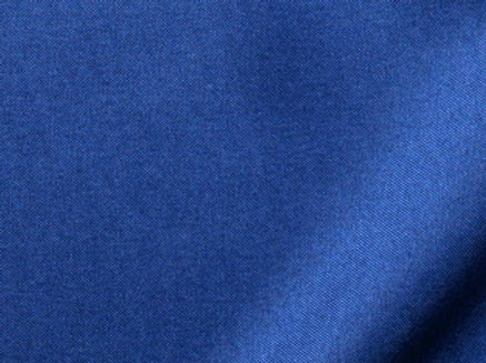 Solid Poly Dark Blue Linen