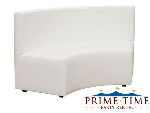 Modern In Curve White Couch