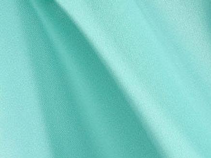 Solid Poly Aqua Linen