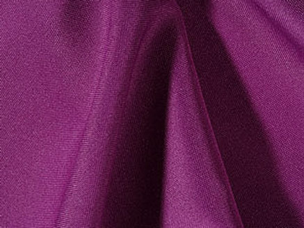 Solid Poly Plum Linen