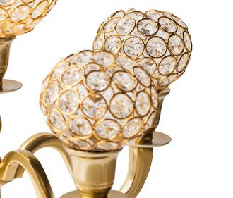Crystal Gold Globes
