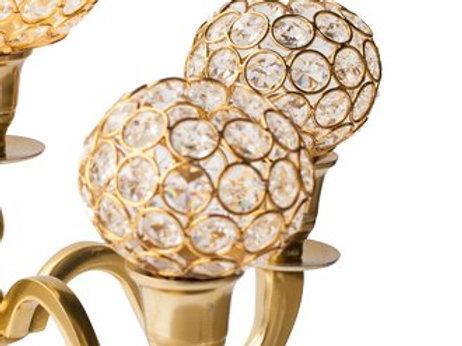 Crystal Gold Globes