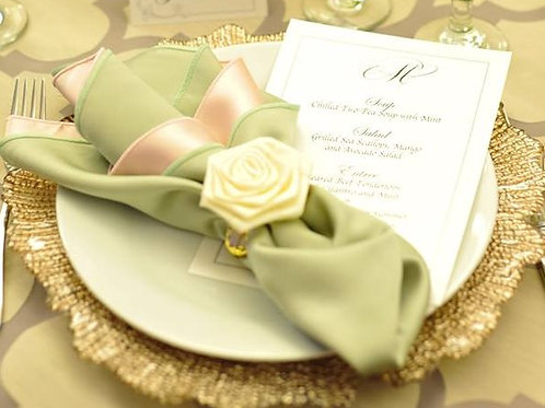 Ivory Rose Flower Clip