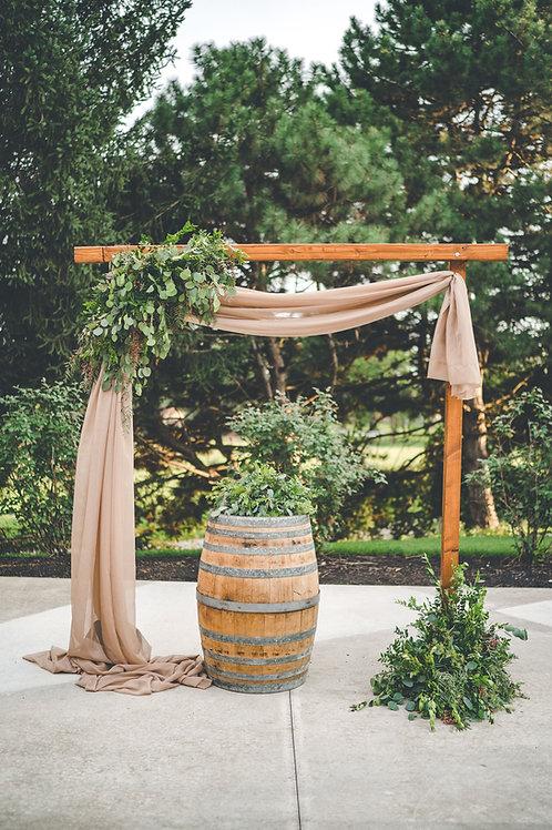 Wood Ceremony Arch