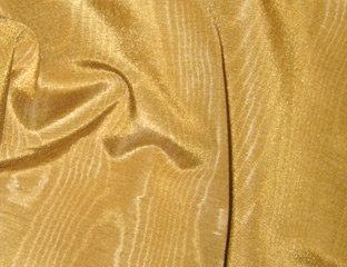Bengaline Moire Gold Linen