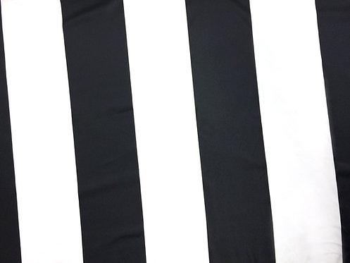 Black & White Stripe Linens