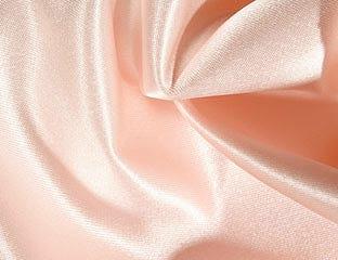 Satin Peach Linens