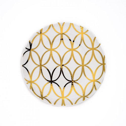 Jackie Gold Accent Plate