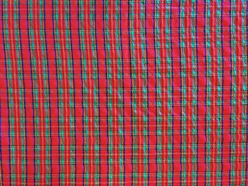 Celebration Tartan Plaid Christmas Linen