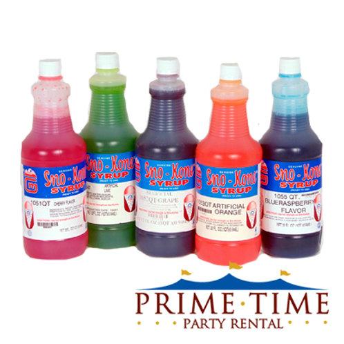 Sno-Kone Syrup Flavoring