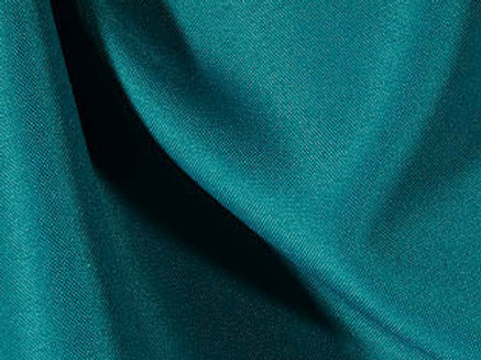 Solid Poly Teal Linen
