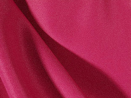 Solid Poly Hot Pink Linen
