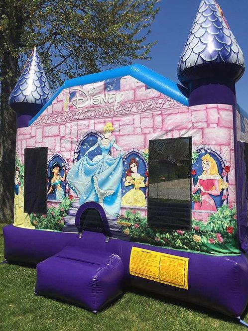 Disney Princess Castle Bounce House 15x15