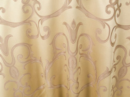 Chopin Camel Damask Pattern